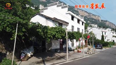 西陵峡村:庭院水果有特色 幸福村落旅游热