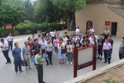 南漳县知识分子国情研修班到延安开展红色主题教育活动(上)