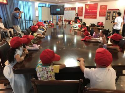县公安局联合县禁毒教育基地开展留守儿童禁毒教育活动