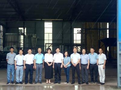 省、市农科院关注中国有机谷稻米基地建设