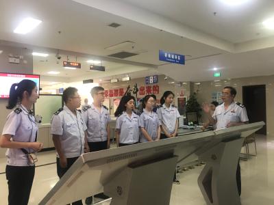 【快讯】县税务局举办新入职公务员见面会