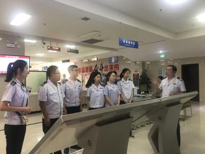 县税务局举办新招录公务员入职仪式暨青年干部座谈会