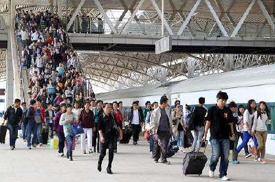 国庆假期前4日,全国累计运送旅客3.45亿人次