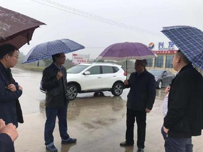 郑风元调研循环经济产业园项目建设