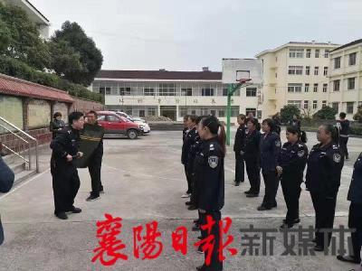南漳县公安局举办校园安保培训 筑牢安全防线