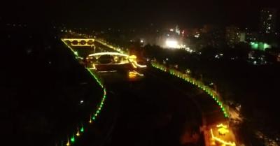 南漳,夜色美