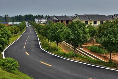 优化美丽新乡村 修建四好农村路