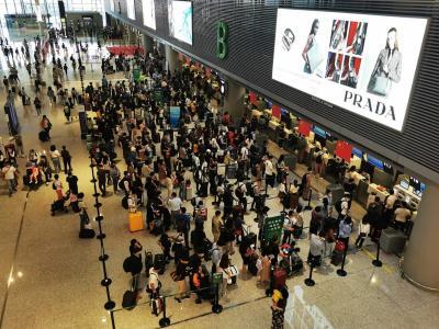 【热点关注】东航2020国庆中秋长假共执行2.3万航班、承运旅客280余万人次