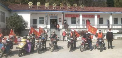 春季防火,英山县杨柳镇宣传在行动