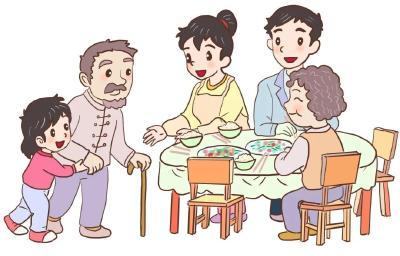 围桌合餐讲礼仪 一筷一勺见文明