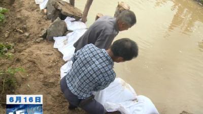 【视频】最大降雨量186毫米   我县全力以赴防汛救灾