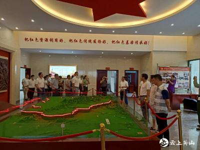 英山县农业农村局积极开展建党99周年红色教育活动