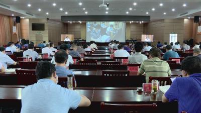 英山县组织收看全市优化营商环境视频会