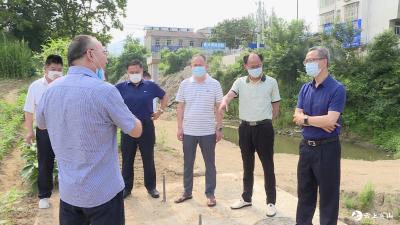 田洪光到白莲河水库调研生态环境保护工作