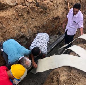 英山县九昇城发集团地热公司助力华中康养度假区项目建设