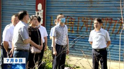 【视频】应急管理部杨晓东来我县检查指导救灾工作
