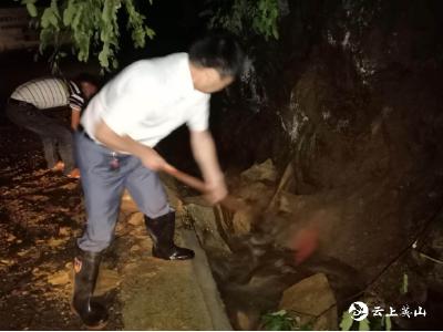 抢抓机遇复生产——英山县江家畈村防汛救灾不等不靠