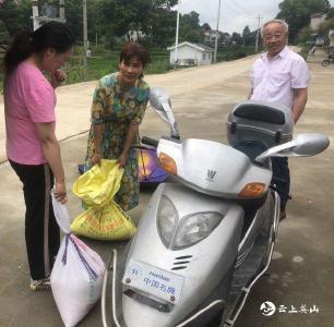 当好扶贫推销员  英山县九昇城发驻村工作队为民解难题