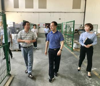 【视频】田洪光调研指导企业发展和优化营商环境工作