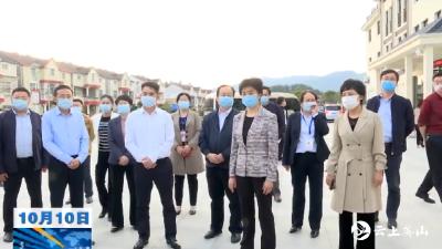 【视频】梁惠玲专题调研英山脱贫攻坚工作