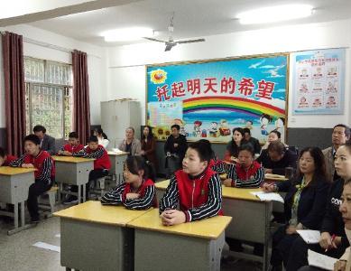 英山县教研室深入特教学校开展教学视导工作