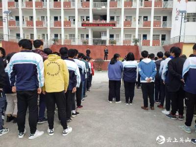 英山县草盘中学积极开展秋冬季传染病预防知识宣传教育