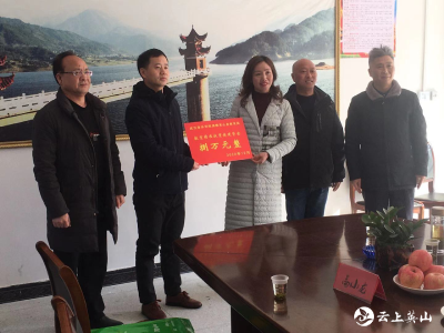 """武汉音乐学院8万元扶贫资金助力张咀希望小学""""爱心厨房""""建设"""