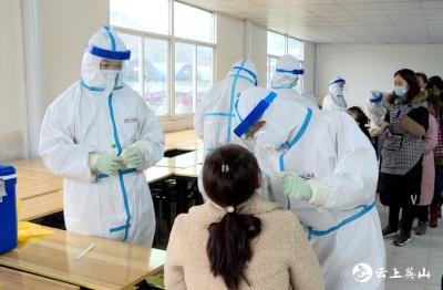 英山13类重点人群核酸检测工作实现全覆盖