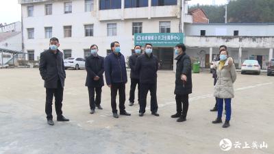 陈武斌到金家铺检查指导疫情防控和安全生产工作