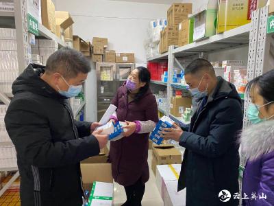 英山县妇幼保健院开展医用防疫物资专项检查