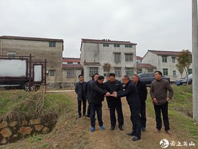 【快讯】县长田洪光到各乡镇调研督办项目进展工作