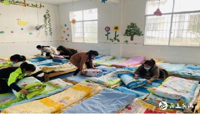 南河镇中心幼儿园开展保育员技能比赛