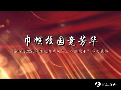 """【巾帼校园竞芳华】英山县2020年度教育系统""""三八红旗手""""事迹展播"""