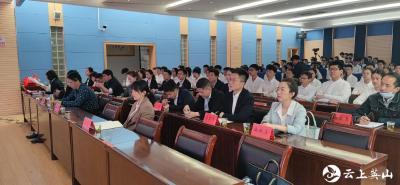 团县委与实验中学联合举办主题团日活动