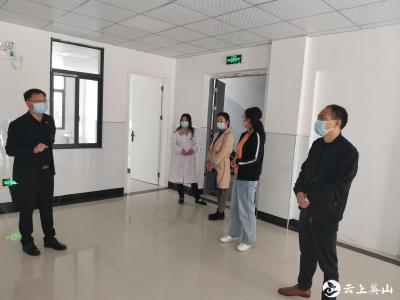 英山县卫健系统开展安全生产大督查