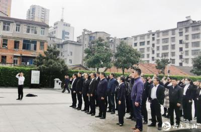 """杨柳湾镇组织开展""""学党史 祭英烈 守初心""""活动"""