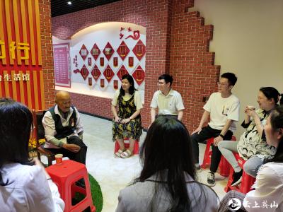 红山镇举行第三期青年读书班活动