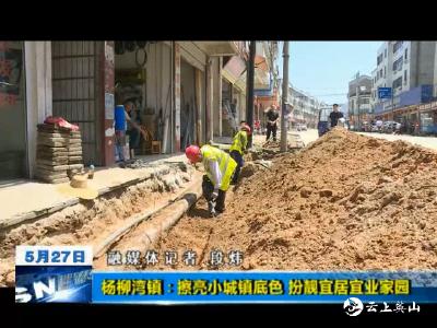 杨柳湾镇:擦亮小城镇底色 扮靓宜居宜业家园