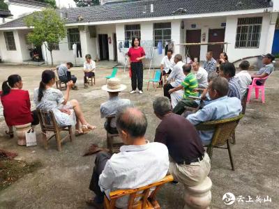 【学党史 办实事】方家咀乡大畈河村慰问五保老人