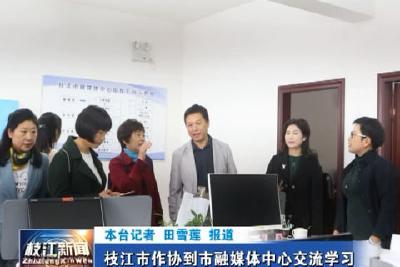 V视| 枝江市作协到市融媒体中心交流学习
