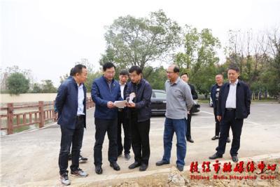 余峰调研省委巡视反馈问题整改和姚家港化工园园区建设工作