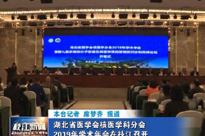 V视| 湖北省医学会核医学科分会2019年学术年会在枝江召开