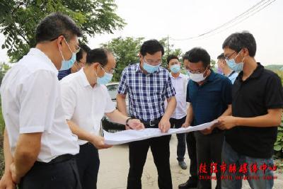 余峰赴姚家港化工园调研园区新项目建设规划
