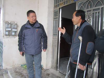 市残联开展走访慰问活动 帮助残疾人做好康复和托养工作