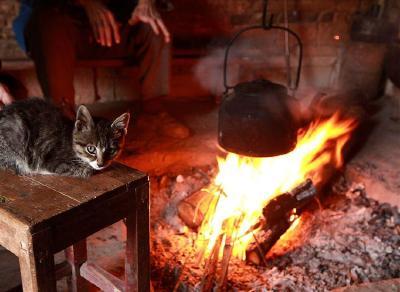 《悦读枝江》——冬天的火塘