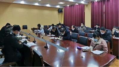 浠水县宪司坳社区大党委召开疫情防控工作会