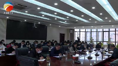 【视频】县政府办公室党史学习教育暨理论中心组学习班开班