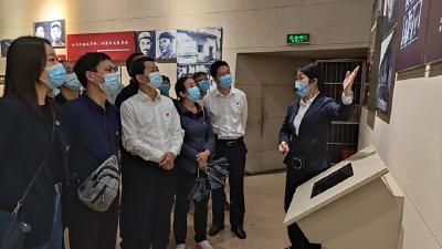 浠水县委宣传部赴红安开展党史学习教育