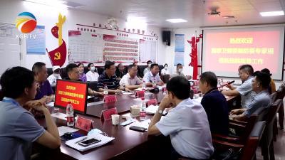 【视频】国家卫健委脑防委专家对县人民医院卒中中心建设进行核查评审