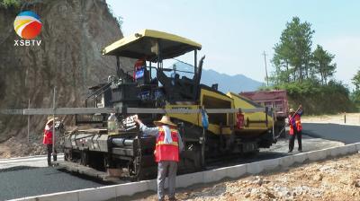 【视频】绿杨乡范冲至土桥段农村公路改建工程预计七月底全线完工